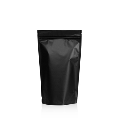 Lamizip Colour Stand Up Pouches 5.51 inch x 9.25 inch Black