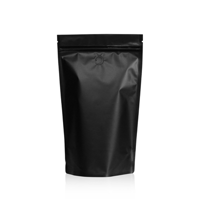 Lamizip Colour Stand Up Pouches 6.30 inch x 10.43 inch Black
