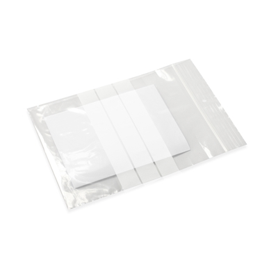 Gripbags 5.91 inch x 7.87 inch Transparent
