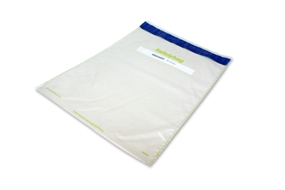 Safetybag Recycled 14.96 inch x 22.44 inch Transparent