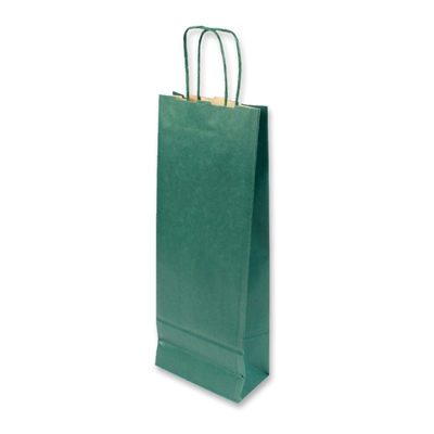 Paper Wine bag 150 mm x 400 mm Groen