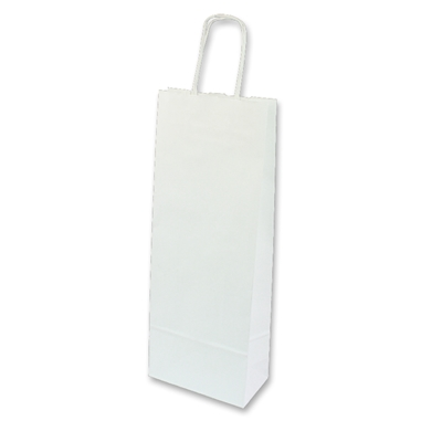 Paper Wine bag 150 mm x 400 mm Wit