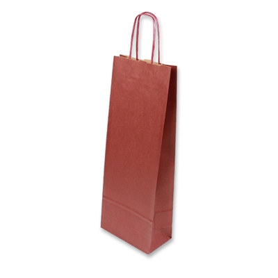 Paper Wine bag 150 mm x 400 mm Bordeaux