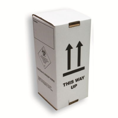 Box for Green DG container UN2814 (800ml) White
