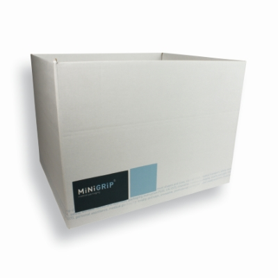 Cardboad Box til transport 415 mm x 485 mm Hvid