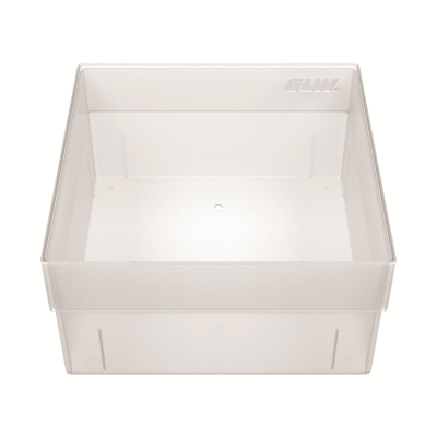 Storage box without dividers Transparent