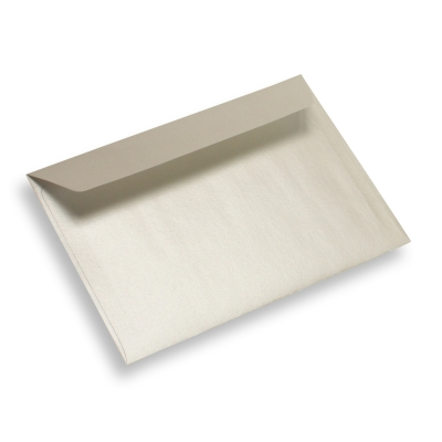 Coloured Paper Envelope 175 mm x 125 mm Pearl White