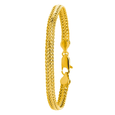 Eve gold plated armband frans gourmet 19 cm