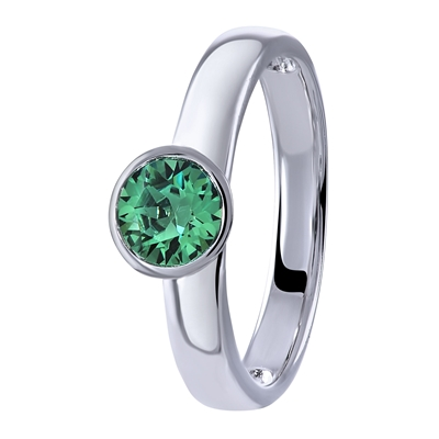 Zilveren ring Swarovski Crystals erinite (1026960)