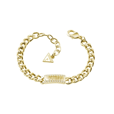 Guess goldplated armband met Swarovski (1036618)