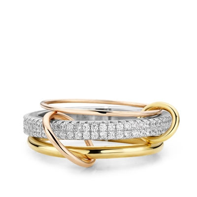 Fine by Super Stylish zilveren ring Emma (1037941)