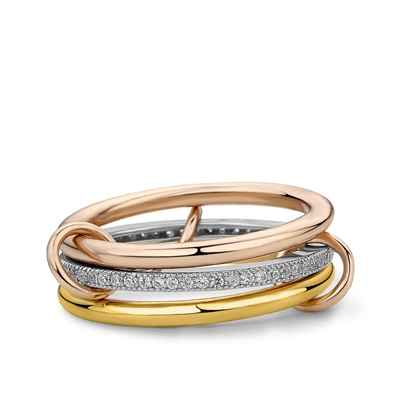 Fine by Super Stylish zilveren ring Cara (1037952)