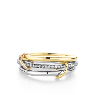 Fine by Super Stylish zilveren ring Amelia (1037963)