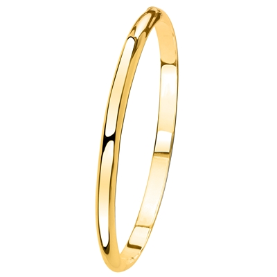 Zilveren slavenarmband goldplated (1041387)