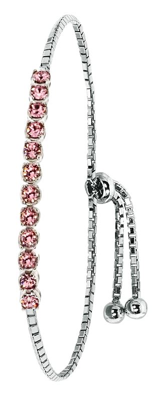 zilveren armband swarovski crystal vintage rose. Black Bedroom Furniture Sets. Home Design Ideas